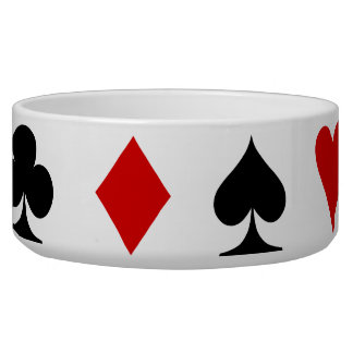 Playing Card Suits Bowl