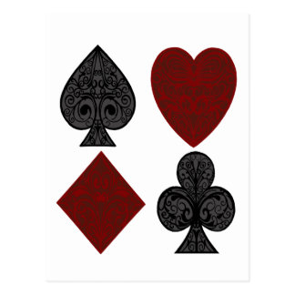 Playing Card Suits Design