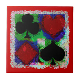 PLAYING CARD SUITS DESIGN Tile