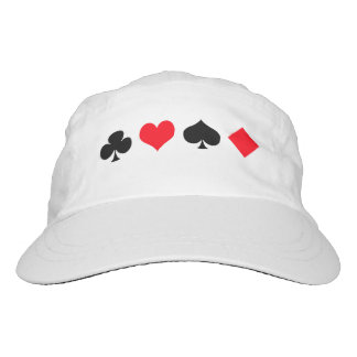 Playing Card Suits. Headsweats Hat