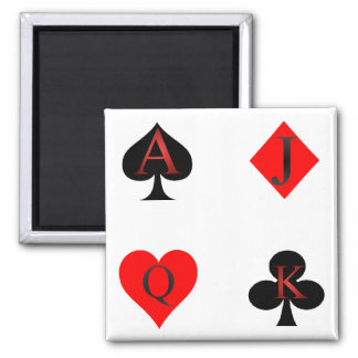 Playing Card Suits Magnets