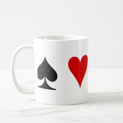 Playing Card Suits Coffee Mugs
