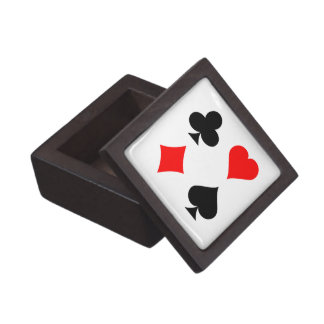 Playing Card Suits: Premium Gift Box