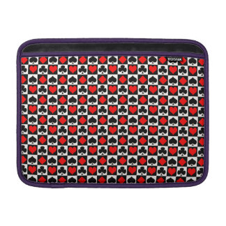 Playing Card Suits Sleeves For MacBook Air