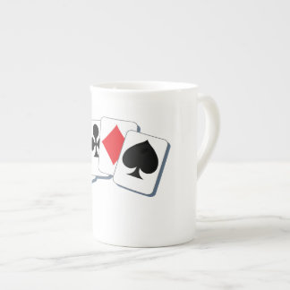 Playing Card Suits Tea Cup