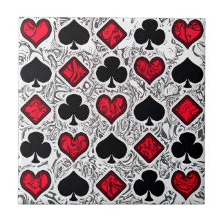 PLAYING CARD SUITS Tile