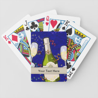 Playing Card Template - Party Celebration Bicycle Playing Cards