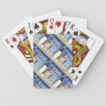 "playing cards<br><div class=""desc"">Who wouldn&#39;t want these?  Paddle board lovers unite over a fun game of poker after a day on the water! Adorned with the STAND PADDLE GLIDE REPEAT&#174; logo,  those make a great gift for yourself…or a friend too,  of course!</div>"