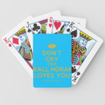 [Two hearts] don't cry coz niall horan loves you  Playing Cards