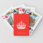 [Crown]  Playing Cards