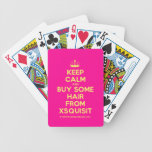 [Knitting crown] keep calm and buy some hair from xsquisit  Playing Cards