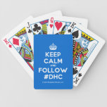 [Crown] keep calm and follow #dhc  Playing Cards