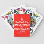 [Campfire] pacaran ambek kimcil iku kudu sabar cok!  Playing Cards