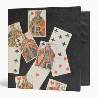 Playing Cards 3 Ring Binder