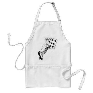 Playing Cards Adult Apron