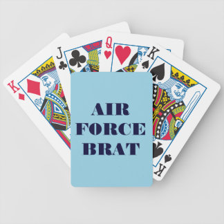 Playing Cards Air Force Brat Bicycle Playing Cards