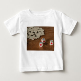 Playing Cards and Dice Infant Tee Shirt