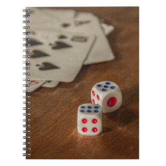 Playing Cards and Dice Notebook