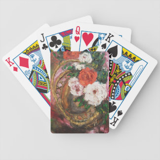 Playing Cards Ann Hayes Painting Flower Basket