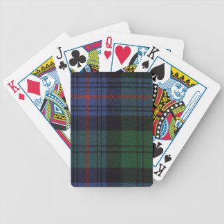Playing Cards Armstrong Ancient Tartan Print