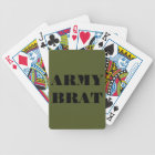 Playing Cards Army Brat
