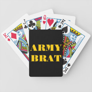 Playing Cards Army Brat Bicycle Playing Cards