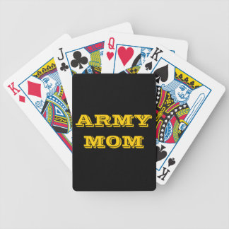 Playing Cards Army Mom Bicycle Playing Cards