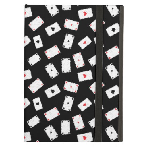 Playing cards artistic design case for iPad air
