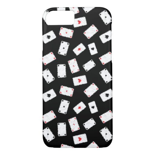 Playing cards artistic design iPhone 8/7 case