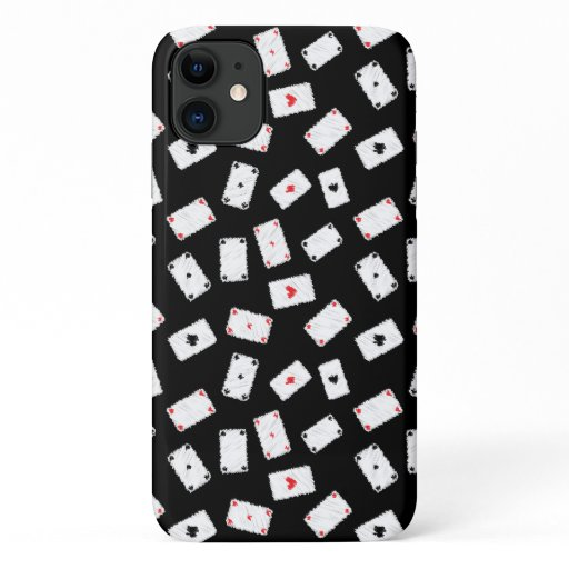 Playing cards artistic design iPhone 11 case