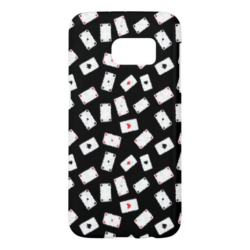 Playing cards artistic design samsung galaxy s7 case