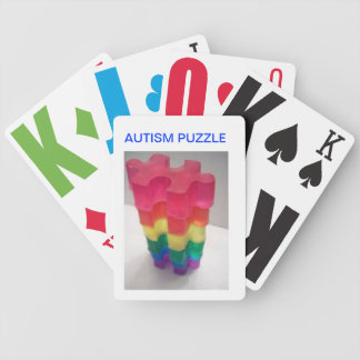 Playing Cards(Autism Puzzle) Bicycle Playing Cards