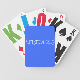 Playing Cards(Autistic Angels) Bicycle Playing Cards