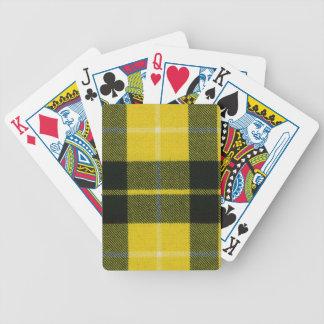 Playing Cards Barclay Dress Modern Tartan