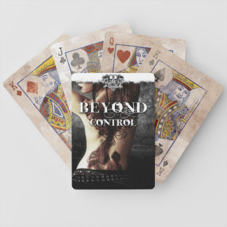 Playing Cards: Beyond Control Cover Bicycle Playing Cards