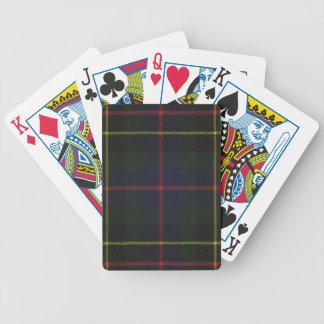 Playing Cards Brodie Hunting Modern Tartan Print