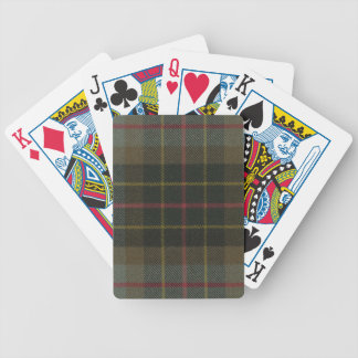 Playing Cards Brodie Hunting Weathered Tartan