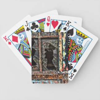 Playing Cards  'Broken Window' by Joanne Coyle