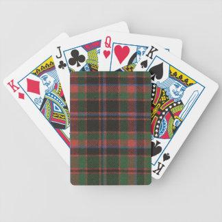 Playing Cards Buchan Clan Ancient Tartan Print