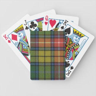 Playing Cards Buchanan Ancient Tartan Print