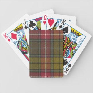 Playing Cards Buchanan Weathered Tartan Print