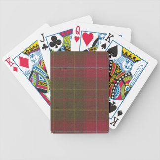 Playing Cards Burnett Weathered Tartan
