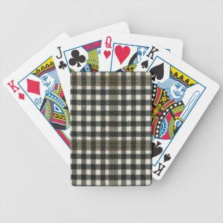 Playing Cards Burns Check Modern Tartan