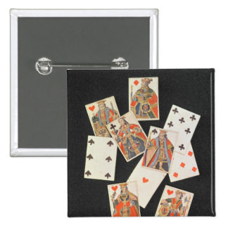 Playing Cards 2 Inch Square Button