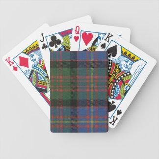 Playing Cards Cameron of Erracht Ancient Tartan
