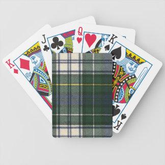Playing Cards Campbell Dress Modern Tartan Print