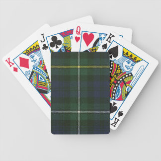 Playing Cards Campbell of Argyll Modern Tartan