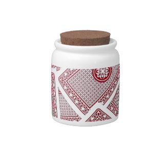 Playing Cards Candy Jar