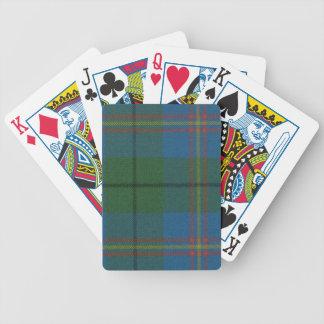Playing Cards Carmichael Ancient Tartan Print