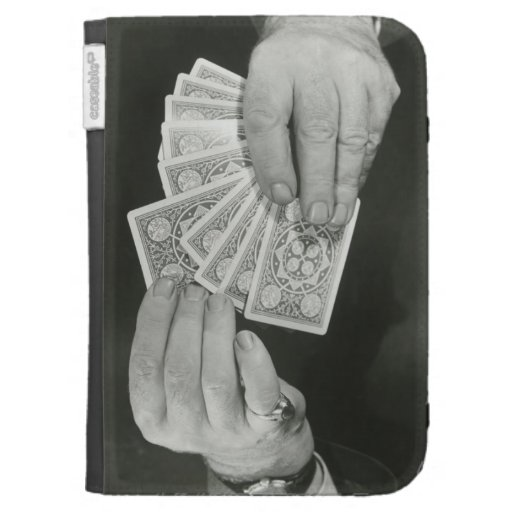 Playing Cards Case For Kindle